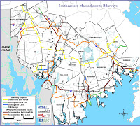 Southeast Massachusetts bikeways
