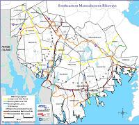 Southeast Massachusetts bikeways