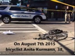 Bicyclists are killed by right-turning trucks