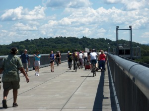 Walkway Over the Hudson bicycle ride