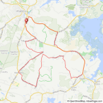 NSC Wednesday evening ride from Ipswich