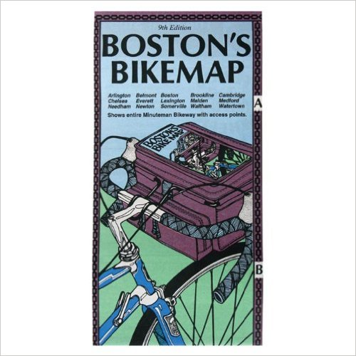 Boston bike map