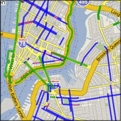 New York City bike maps