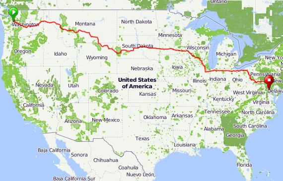 Big Ride Across America Bike New England