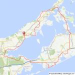 Long Island Peconic Bay bicycle ride