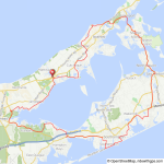 Long Island Peconic Bay bicycle ride