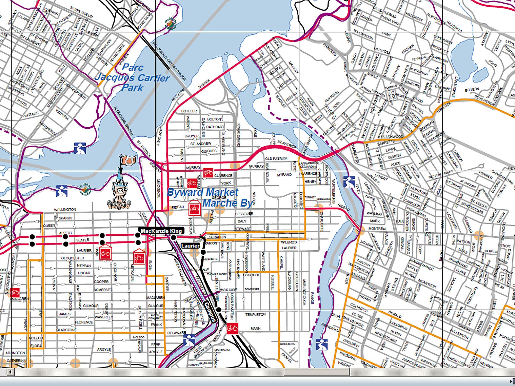 Cycling Montreal Laurentides Gatineau Ottawa and Ottawa River