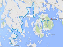 Penobscot Peninsula and Mount Desert Island cycling tour