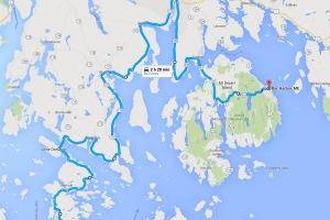 Penobscot Peninsula and Mount Desert Island cycling tour