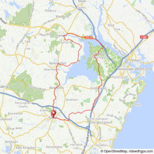 Exeter Great Bay bicycle ride