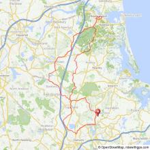 Hamilton to Newburyport MA bicycle ride