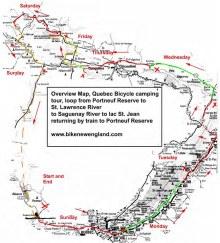 Saguenay bicycle ride