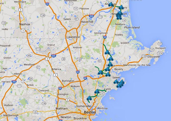 Border to Boston trail