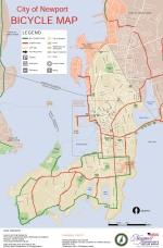 Newport Bike map