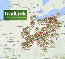 Ohio trails and bicycle ride