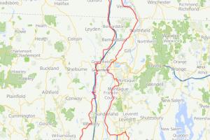 Brattleboro Century bicycle ride