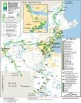 ECGA trail map