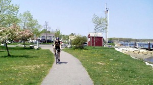 Bicycle trails in Massachusetts