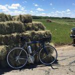Donald Trump bicycle ride