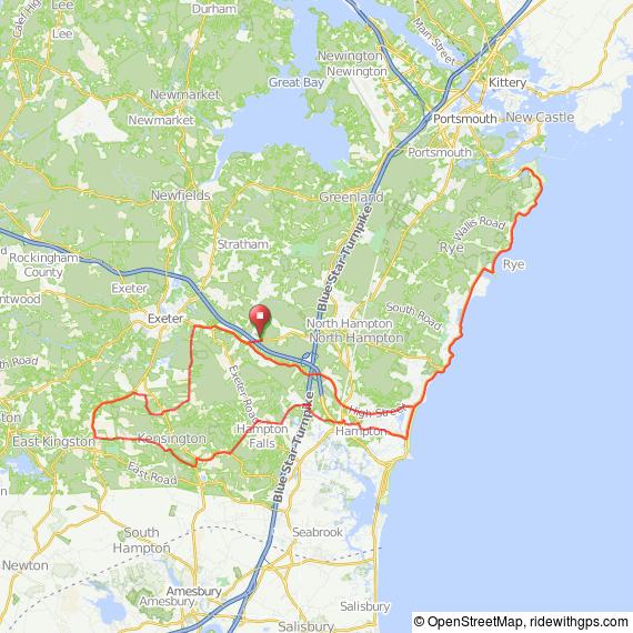 Noth Hampton Granite State bicycle ride