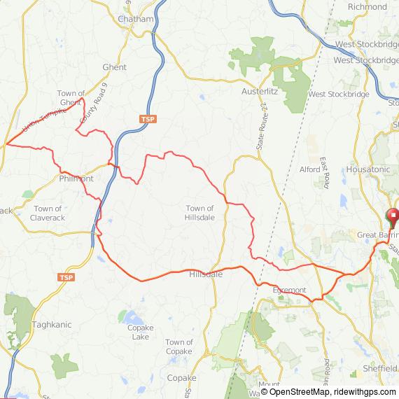 Great Barrington - Philmont ride