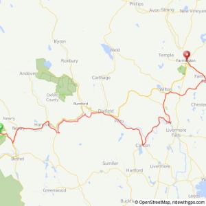 Trek across Maine bicycle ride