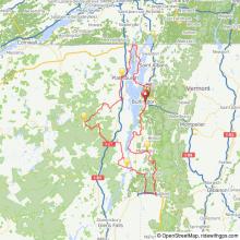 Lake Champlain Adirondacks bicycle tour