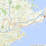 Reid's ride Lynnfield to Gloucester