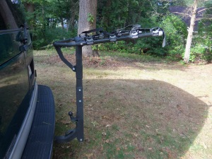"Allen 440RR heavy duty 4-bike rack for 2"" hitch, $50"