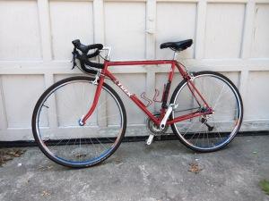 "1987 Trek 420 touring bike, updated 27 speed, 54mm, 30.5"" standover height.  $275"