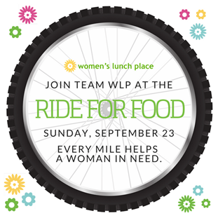 Ride for Food – Women's Lunch Place; September 23, 2018