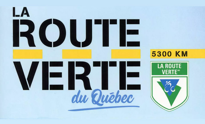 La Route Verte cycling in Quebec