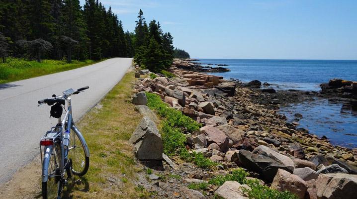 Acadia bike, paddle and hike, Great American bike tour