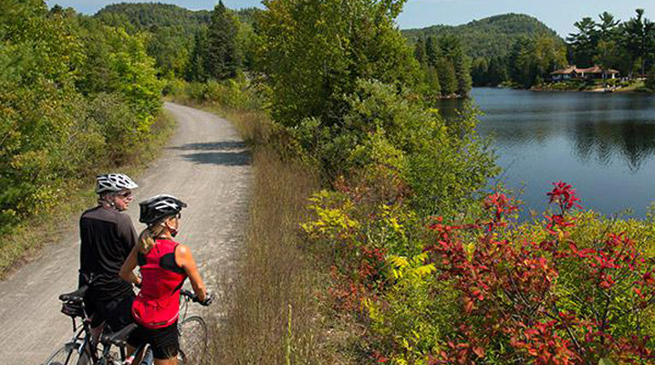 Great American Bike tours of the Laurentides