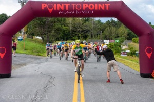 Point to Point bicycle ride